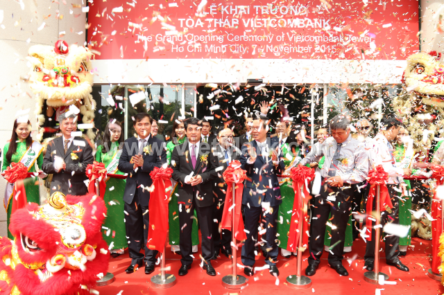 The Grand Opening Ceremony of Vietcombank Tower