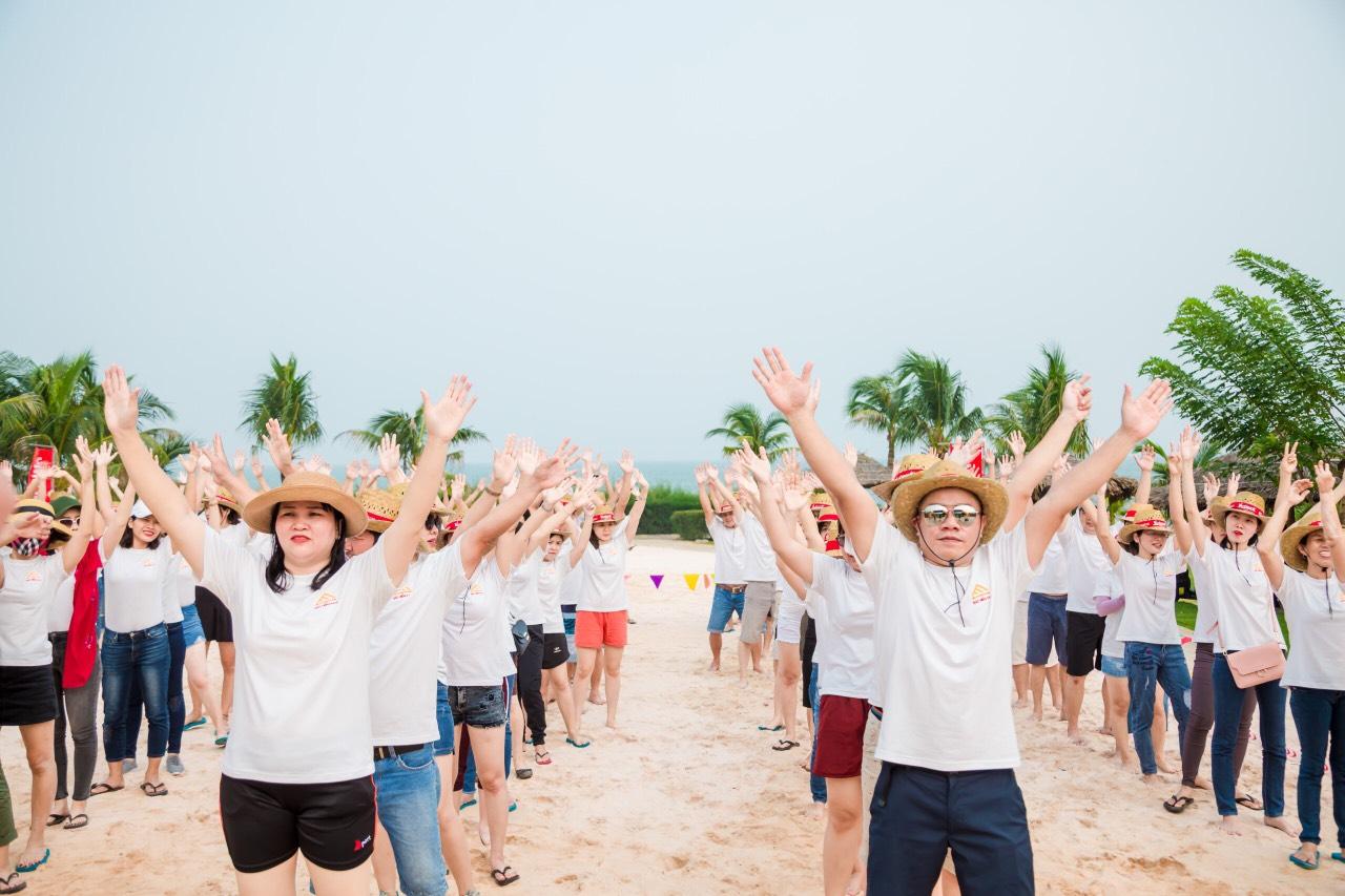 AAA TEAMBUILDING - New Begining - Long Hai Beach 2019