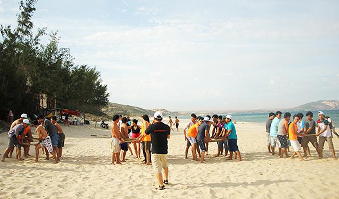 Teambuilding - Sản phẩm du lịch độc đáo ở Phan Thiết